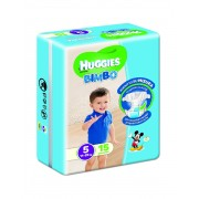 Huggies Base Boy 5 15pz