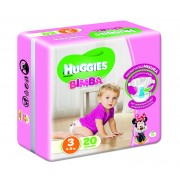 Huggies Base Girl 3 20pz