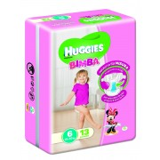 Huggies Base Girl 6 13pz