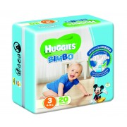 Huggies Base Boy 3 20pz