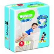 Huggies Base Boy 4 17pz