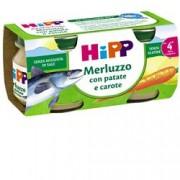 Hipp Merluzzo con Patate e Carote 2x80GR