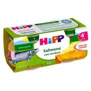 Hipp Salmone con Verdure 2x80GR
