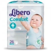 Libero Comfort Pannolini 4 7 - 14 kg 26 Pezzi