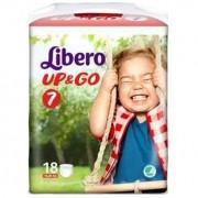Libero Up&Go Pannolini 7 16-26KG 18 Pezzi