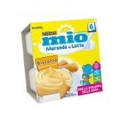 Nestle Merenda Latte Biscotti 4x100GR