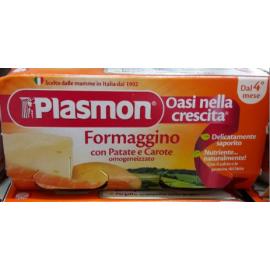 Plasmon Omogeneizzato Formaggino con Patate e Carote 2x80gr