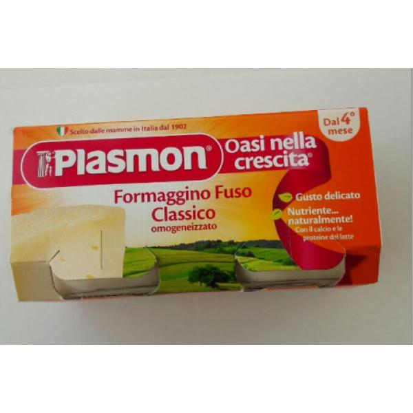 Plasmon Formaggino Fuso Classico 2x80gr