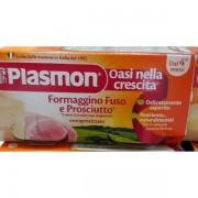 Plasmon Omogeneizzato Formaggino Fuso con Prosciutto 2x80gr