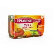 Plasmon Mela Albicocca 2x104gr