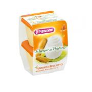 Plasmon Sapore Di Natura Merende Biscotto e Yogurt 2 X 120 GR