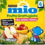 Nestle Mio Frutta Grattugiata Mela / Banana / Fragola 400gr