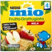 Nestle Mio Frutta Grattugiata Mela 400gr